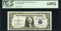 Fr. 1613N* $1 1935D Narrow Silver Certificate. *-C Block. PCGS Very Choice New 64PPQ