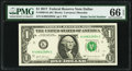 Small Size:Federal Reserve Notes, Radar Serial Number 49822894 Fr. 3004-K $1 2017 Federal Reserve Note. PMG Gem Uncirculated 66 EPQ.. ...