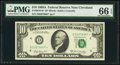 Fr. 2019-D* $10 1969A Federal Reserve Note. PMG Gem Uncirculated 66 EPQ