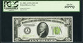 Small Size:Federal Reserve Notes, Fr. 2004-A $10 1934 Light Green Seal Federal Reserve Note. PCGS Gem New 65PPQ.. ...