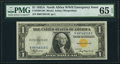 Fr. 2306 $1 1935A North Africa Silver Certificate. PMG Gem Uncirculated 65 EPQ