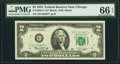 Fr. 1935-G* $2 1976 Federal Reserve Star Note. PMG Gem Uncirculated 66 EPQ