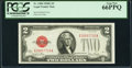 Fr. 1508 $2 1928G Legal Tender Note. PCGS Gem New 66PPQ