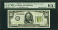 Small Size:Federal Reserve Notes, Fr. 2102-H $50 1934 Light Green Seal Federal Reserve Note. PMG Gem Uncirculated 65 EPQ.. ...