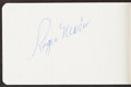 Autographs:Others, 1960's Note Pad Signed by Six New York Yankees - With Roge...