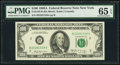 Fr. 2165-B $100 1969A Federal Reserve Note. PMG Gem Uncirculated 65 EPQ