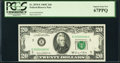 Small Size:Federal Reserve Notes, Low Serial Number 80 Fr. 2070-E $20 1969C Federal Reserve Note. PCGS Superb Gem New 67PPQ.. ...