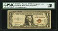 Fr. 2300 $1 1935A Hawaii Silver Certificate. PMG Very Fine 20