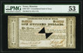 Obsoletes By State:Texas, Houston, TX- Consolidated Fund of Texas $100 Sep. 1, 1837 Cr. CF7A PMG About Uncirculated 53.. ...