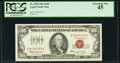 Fr. 1550 $100 1966 Legal Tender Note. PCGS Extremely Fine 45