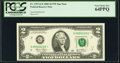 Small Size:Federal Reserve Notes, Fancy Low Serial Number 00002222 Fr. 1937-G* $2 2003 Federal Reserve Note. PCGS Very Choice New 64PPQ.. ...