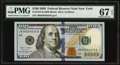 Small Size:Federal Reserve Notes, Fr. 2184-B $100 2009 Federal Reserve Note. PMG Superb Gem Unc 67 EPQ.. ...