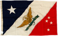 Military & Patriotic:WWII, 1901 Pan- American Exposition Flag - Mail Office Flag - Pres. McKinley Assassination. ...