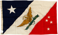 1901 Pan- American Exposition Flag - Mail Office Flag – Pres. McKinley Assassination