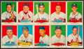 Baseball Cards:Sets, 1954 Red Heart Baseball Near Set (32/33) Missing Mantle. ...