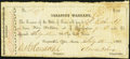 Obsoletes By State:Texas, Austin, TX- Treasury Warrant $5 Feb. 15, 1862 Cr. 16D Fine-Very Fine.. ...