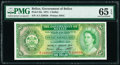 Belize Government of Belize 1 Dollar 1.1.1974 Pick 33a PMG Gem Uncirculated 65 EPQ