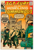Silver Age (1956-1969):War, Sgt. Fury and His Howling Commandos #2 (Marvel, 1963) Condition: VG....