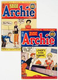 Archie Comics #39 and 42 Group (Archie, 1949-50).... (Total: 2 Comic Books)