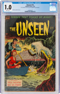 Golden Age (1938-1955):Horror, The Unseen #12 (Standard, 1953) CGC FR 1.0 Brittle pages....