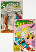 Silver Age (1956-1969):Superhero, Superman #117 and 149 Group (DC, 1957-61).... (Total: 2 Comic Books)