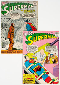 Superman #117 and 149 Group (DC, 1957-61).... (Total: 2 Comic Books)
