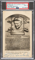 Baseball Collectibles:Others, Circa 1955 Ed Walsh Signed Albertype Hall of Fame Type 2 P...