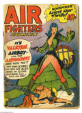 Golden Age (1938-1955):War, Air Fighters Comics V2#2 (Hillman Fall, 1943) Condition: GD. Firstappearance of Valkyrie. Valkyrie cover by Fred Kida. Kida...