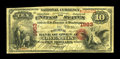 National Bank Notes:Kentucky, Owenton, KY - $10 Original Fr. 414 The NB of Owen Ch. # 1963. ...