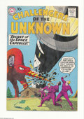 Silver Age (1956-1969):Adventure, Challengers of the Unknown #17 (DC, 1961) Condition: FN+. Bob Brown cover and art. This copy contains white pages. Overstree...