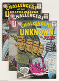 Silver Age (1956-1969):Adventure, Challengers of the Unknown #10-14 Group (DC, 1959-60) Condition: Average VG+. This group consists of five comics: #10, 11 (g... (Total: 5 Comic Books Item)