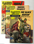 Silver Age (1956-1969):Classics Illustrated, Classics Illustrated Group (Gilberton, 1955-60s) Condition: AverageVG-. This lot consists of issues #5, 7, 17, 31, 42, 64, ... (Total:18 Comic Books Item)