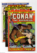 Bronze Age (1970-1979):Miscellaneous, Conan the Barbarian Group (Marvel, 1971-74) Condition: AverageFN/VF. This group consists of 28 comics: #11-19, 21, 22, 23 (...(Total: 28 Comic Books Item)