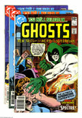 Bronze Age (1970-1979):Miscellaneous, DC Bronze Age Horror Group (DC, 1970-81) Condition: Average FN+.This lot consists of Ghosts #97, 98, 99, Witching Hou... (Total: 18Comic Books Item)