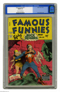 Golden Age (1938-1955):Science Fiction, Famous Funnies #211 (Eastern Color, 1954) CGC VG/FN 5.0 Cream tooff-white pages. Featuring Buck Rogers. Frank Frazetta cove...