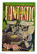 Golden Age (1938-1955):Horror, Fantastic Fears #5 (Farrell, 1954) Condition: GD/VG. First drawn(but not first published) professional work by Steve Ditko....
