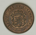 Luxembourg, Luxembourg: A pair of 5 Centimes including:... (Total: 2 coins)