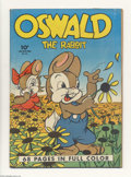 Golden Age (1938-1955):Funny Animal, Four Color #21 Oswald the Rabbit (Dell, 1943) Condition: VG+.Walter Lantz cover. Overstreet 2004 VG 4.0 value = $96....