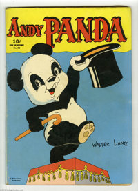 Four Color #25 Andy Panda (Dell, 1943) Condition: GD. Andy Panda #1. Walter Lantz cover. Bright cover colors. Overstreet...