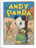 Golden Age (1938-1955):Funny Animal, Four Color #54 Andy Panda (Dell, 1944) Condition: VG+. Rich covercolors. Overstreet 2004 VG 4.0 value = $62....