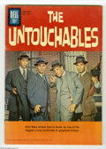 Silver Age (1956-1969):Mystery, Four Color #1237 (Dell, 1961) Condition: FN. The Untouchables.Robert Stack photo cover. Overstreet 2004 FN 6.0 value = $72....