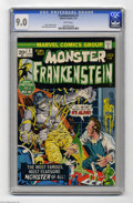 Bronze Age (1970-1979):Horror, Frankenstein #1 (Marvel, 1973) CGC VF/NM 9.0 White pages. MikePloog cover and art. Overstreet 2004 VF/NM 9.0 value = $55; N...