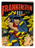 Golden Age (1938-1955):Horror, Frankenstein Comics #21 (Prize, 1952) Condition: VG+. Dick Brieferstories and art. Overstreet 2004 VG 4.0 value = $50....