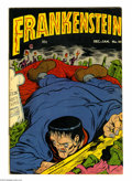Golden Age (1938-1955):Horror, Frankenstein Comics #22 (Prize, 1953) Condition: FN. Dick Brieferstories and art. Overstreet 2004 FN 6.0 value = $75....
