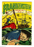 Golden Age (1938-1955):Horror, Frankenstein Comics #26 (Prize, 1953) Condition: FN+. Dick Brieferstories and art. Overstreet 2004 FN 6.0 value = $75; VF 8...