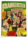 Golden Age (1938-1955):Horror, Frankenstein Comics #28 (Prize, 1953) Condition: FN-. Dick Brieferstories and art. Overstreet 2004 FN 6.0 value = $75....