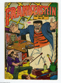 Golden Age (1938-1955):Horror, Frankenstein Comics #29 (Prize, 1954) Condition: VG. Dick Brieferstories and art. Overstreet 2004 VG 4.0 value = $50....