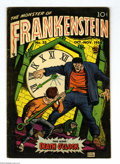 Golden Age (1938-1955):Horror, Frankenstein Comics #33 (Prize, 1954) Condition: VG/FN. Last issue.Dick Briefer stories and art. Overstreet 2004 VG 4.0 val...