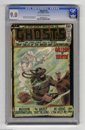 Bronze Age (1970-1979):Horror, Ghosts #2 (DC, 1971) CGC VF/NM 9.0 Off-white to white pages. NickCardy cover. Overstreet 2004 VF/NM 9.0 value = $63; NM- 9....