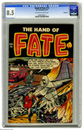 Golden Age (1938-1955):Horror, The Hand of Fate #12 Bethlehem pedigree (Ace, 1952) CGC VF+ 8.5Off-white to white pages. This is the only copy of this issu...